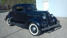 35 Plymouth PJ coupe