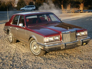 82 Lincoln Signature Series