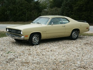 72 Gold Duster 6-cyl