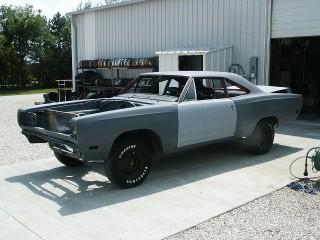 69 RoadRunner Post project